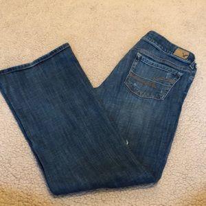 American Eagle Wide Leg Jeans